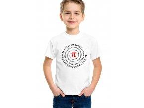 Dětské tričko číslo pí