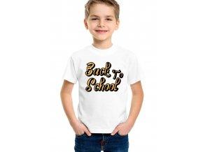 Dětské tričko Zpátky do školy