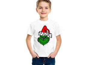Dětské tričko The Grinch Vánoce