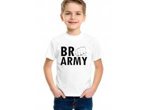 Dětské tričko Pewdiepie Brofist army