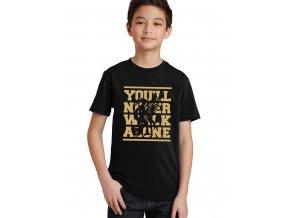 Dětské tričko Fc liverpool Nikdy nepůjdeš sám