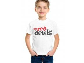 Dětské tričko fc manchester united Red devils