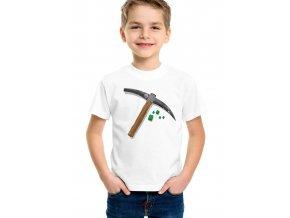 Dětské tričko Minecraft Krumpáč