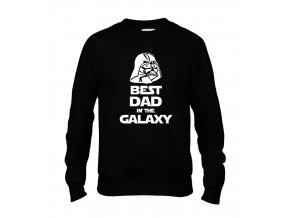 Mikina bez kapuce Star Wars Nejlepší táta v galaxii