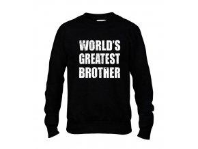 Mikina bez kapuce Nejlepší brácha na světě