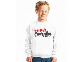 dětská mikina Fc manchester united Red devils