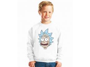 dětská mikina Rick and Morty Rick