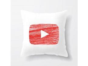 polštář Youtube