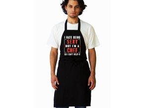 Zástěra Nesnáším být sexy Kuchař