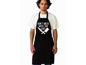 Zástěra Nezačínej si s kuchařem