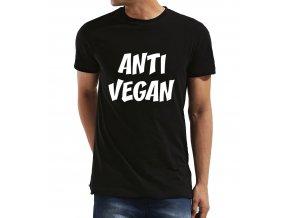 Pánské tričko ANTI VEGAN