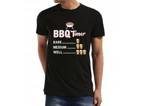 Pánské tričko BBQ odpočítávání