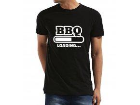 Pánské tričko BBQ se načítá