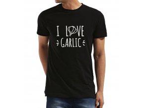 Pánské tričko Miluji česnek
