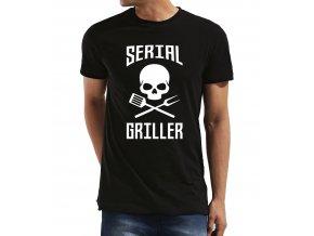 Pánské tričko Sériový Grilovač