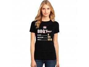 Dámské tričko BBQ odpočítávání
