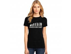 Dámské tričko Evoluce Kuchař