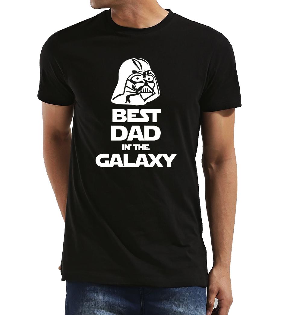 c86cb018e3c PÁNSKÉ TRIČKO PRO TATÍNKA - Star Wars Nejlepší táta v galaxii Velikost  XL