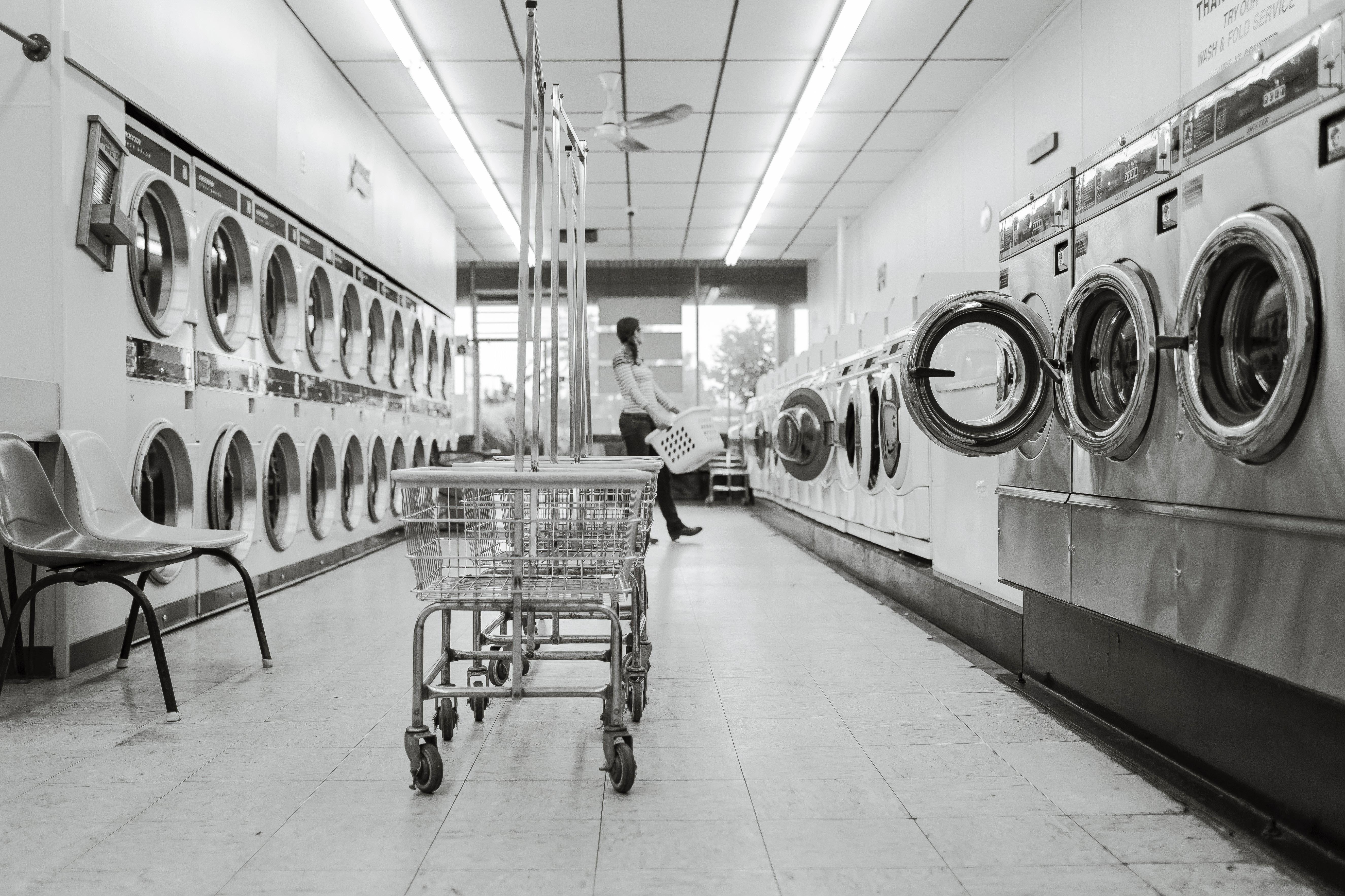 Prací prostředky pro hotely a prádelny