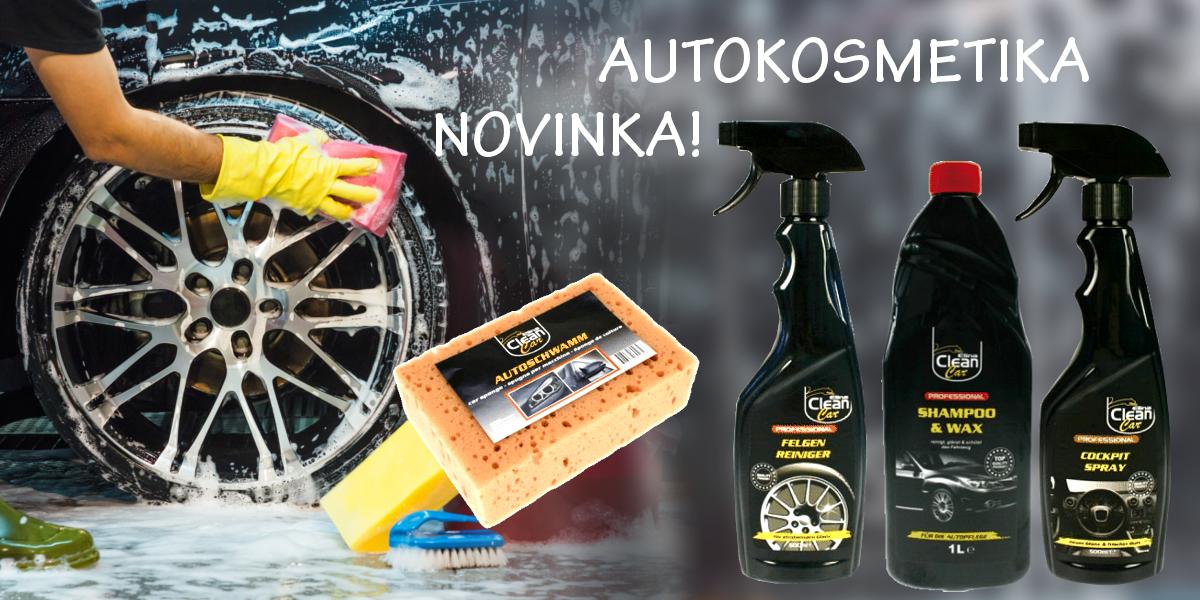 Novinka - kosmetika pro automobily