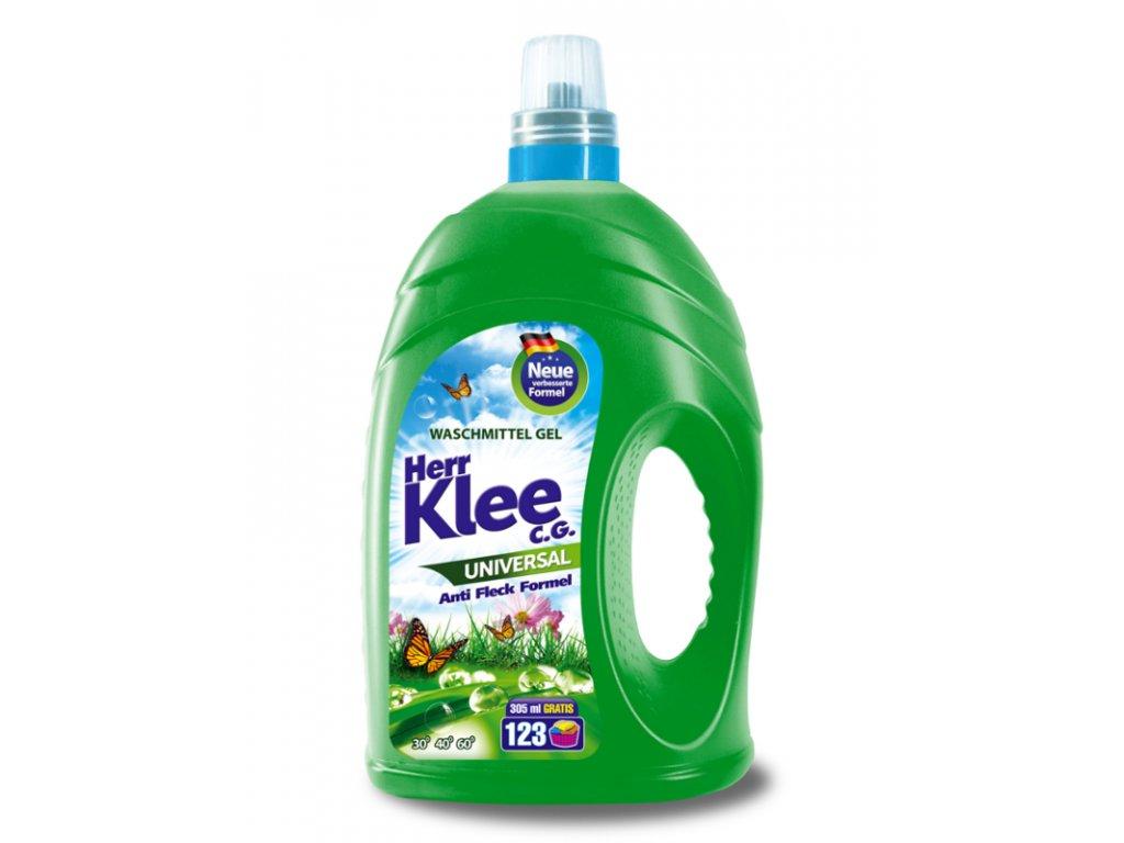 Klee Universal Gel na praní bílého i barevného prádla 123 Pracích cyklů