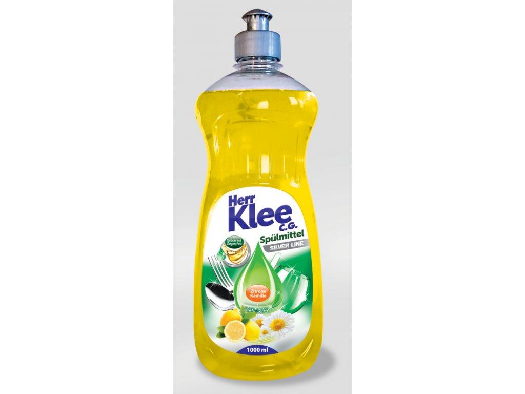 Klee Prostředek pro ruční mytí nádobí s vůní Citronu a Heřmánku 1l