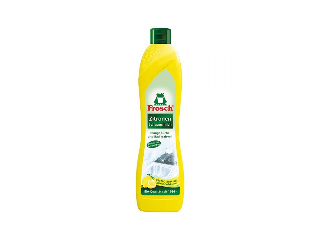Frosch Tekutý písek citron 500ml - BIO