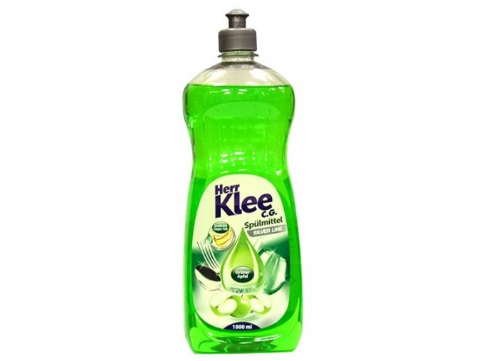 Klee Prostředek pro ruční mytí nádobí s vůní Máty a Aloe Vera 1l