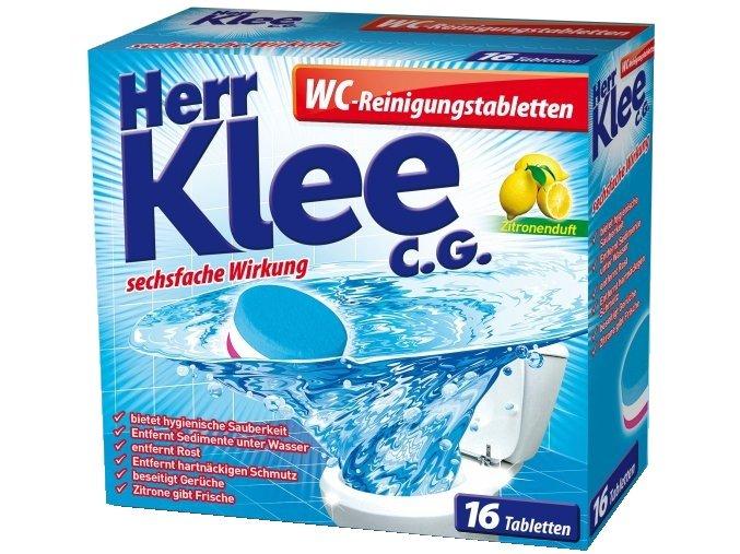 Klee Čistící Tablety do WC 16ks