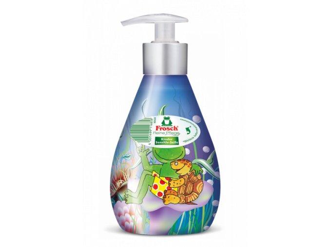 Frosch Sensitiv Tekuté Mýdlo pro děti s dávkovačem 300ml BIO