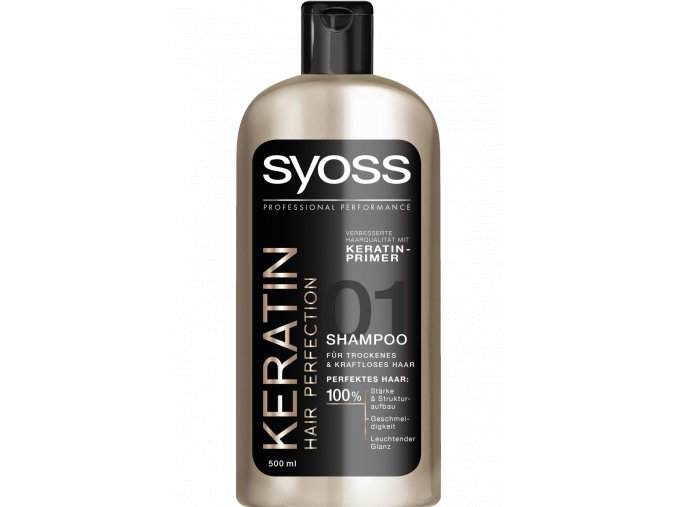 Syoss Šampon 500ml Keratin Hair Perfection