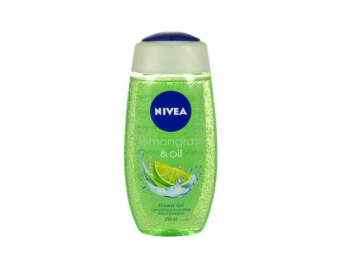 Nivea Lemongrass & Oil Sprchový Gel 250ml