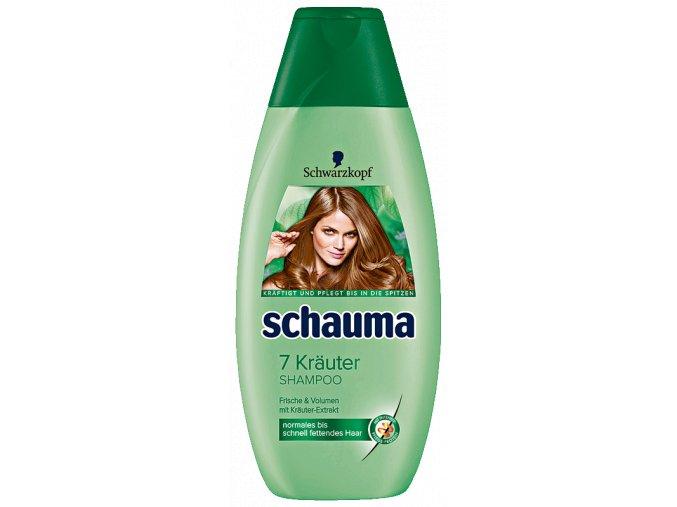Schauma Šampon 400ml 7 Bylin