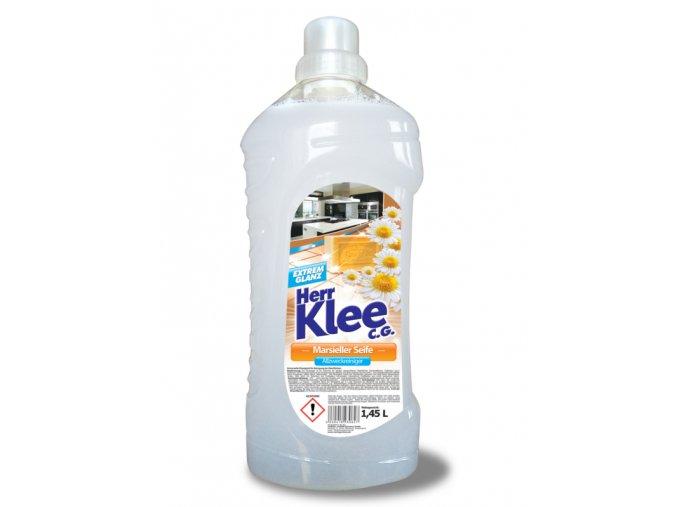 Klee Univerzální čistič omyvatelných povrchů s vůní marseillského mýdla 1,45l