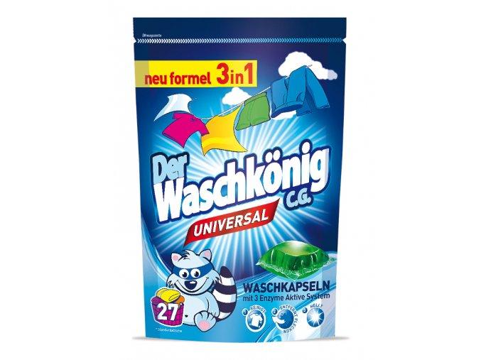 Waschkönig Universal Kapsle 3v1 27ks