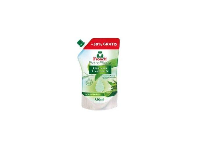 Frosch tekuté mýdlo Aloe Vera náhradní náplň 750ml - BIO