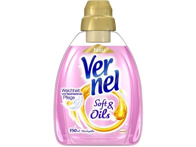 Vernel Soft & Oils Aviváž Růžová 750ml