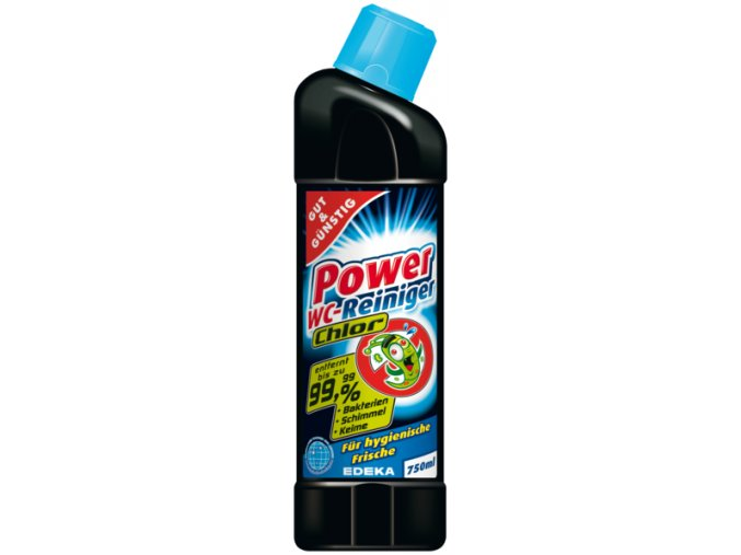 G&G Power WC čistič - Chlorový 750ml