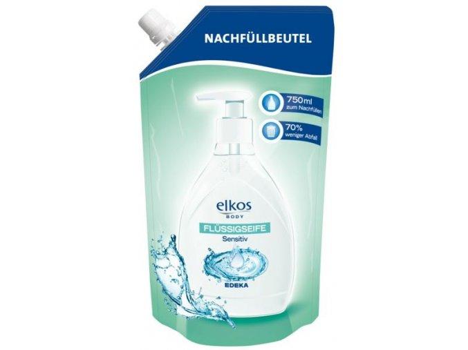 Elkos Tekuté mýdlo pro citlivou pokožku - Náhradní náplň 750ml