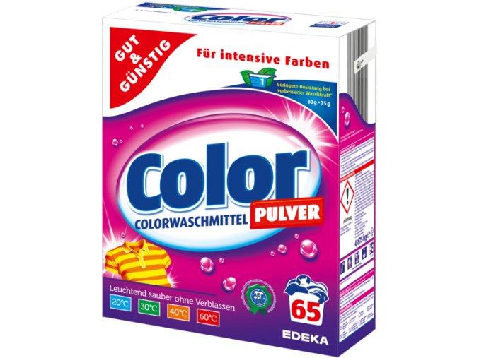 G&G Color prášek na praní barevného prádla 65 pracích cyklů