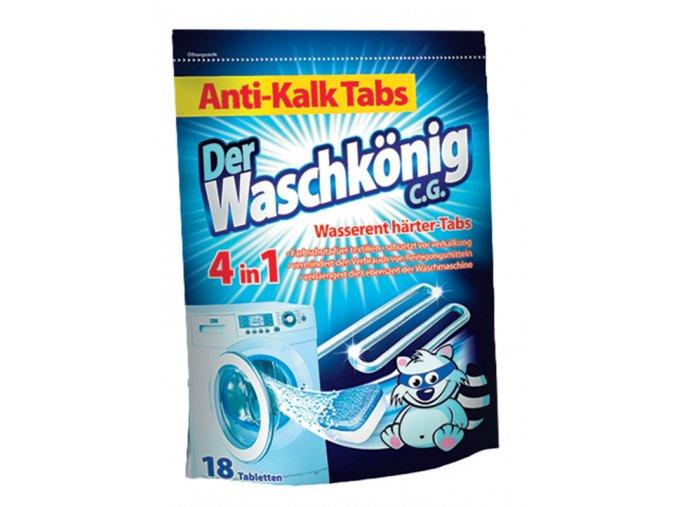 Waschkönig Anti-Kalk Odvápňovací tablety 4v1 18ks