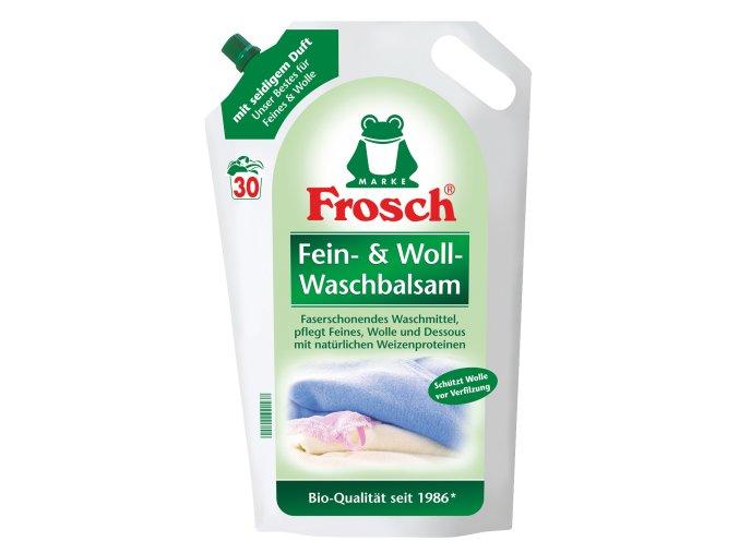 Frosch Fein & Woll Gel na praní vlny a hedvábí 30 Pracích cyklů (1,8l) - BIO