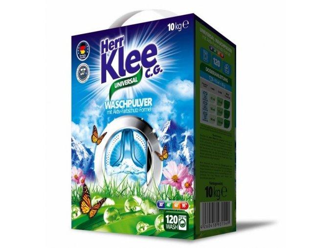 Klee Universal Prášek na praní bílého a barevného prádla 120 Pracích cyklů - Krabice