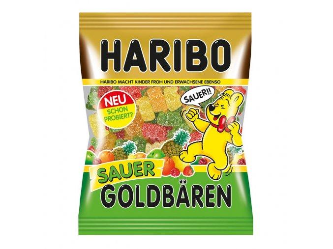 Haribo Sauer Goldbren Gummi Candy 200g main 1