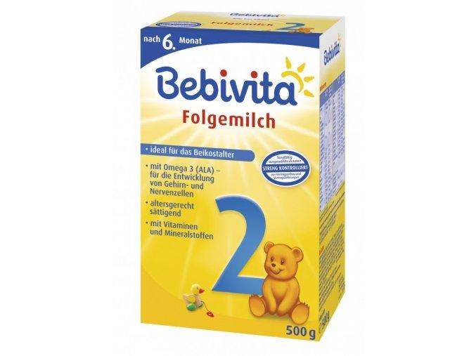 bebivita 2 pokracovaci kojenecke mleko od ukonceneho 6 mesice 2 x 250g 2401
