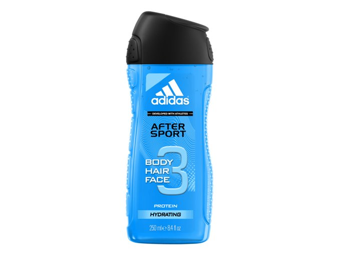 Adidas Sprchový gel 250ml 3in1 After Sport