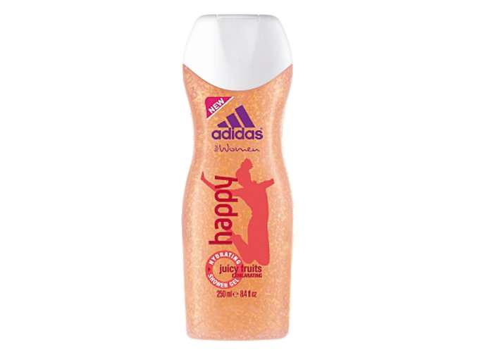 Adidas Sprchový gel 250ml Women Happy