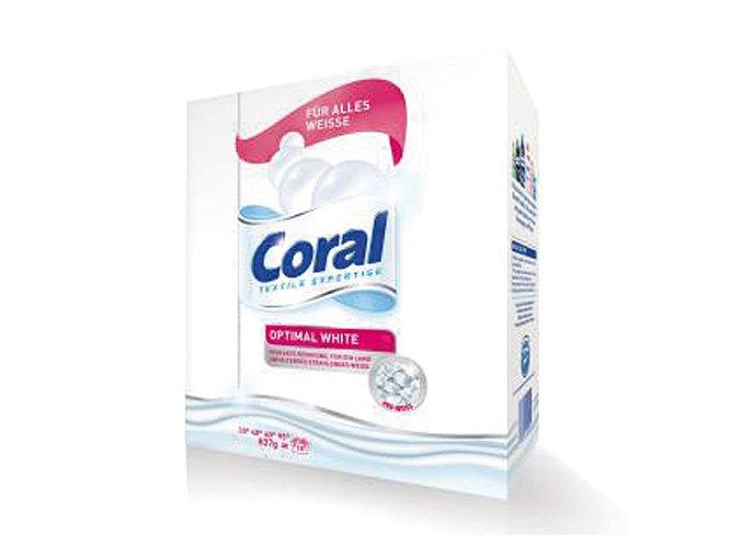 Coral Prací prášek Optimal White 18 Pracích cyklů