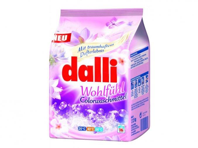 Dalli Wohlfühl Color Prášek na praní 16 Pracích cyklů