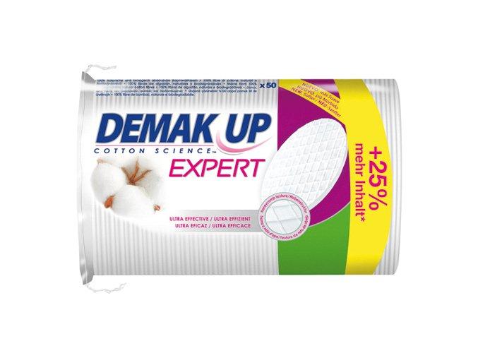 Demak Up Pads Expert Duo+ Oválné odličovací tampony 50ks
